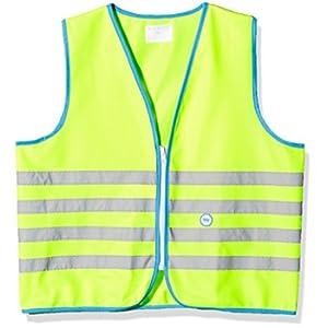 Wowow Fun Giubbotto di sicurezza per bambini, Giallo (Fluorescent Yellow), Taglia L (+10 anni)