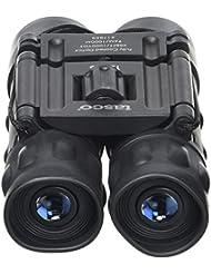 Tasco 12x25 Essentials - Prismático compacto, negro