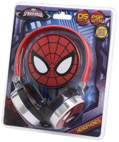 "Headset Kopfhörer \""Spiderman Ultimate\"" Nintendo DS Lite i XL 3DS, Sony PSP Vita, PC"
