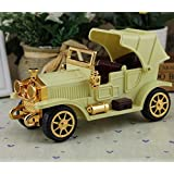 Curtis Toys Premium Quality Wind-up Vintage Car (Color As Per Stock)