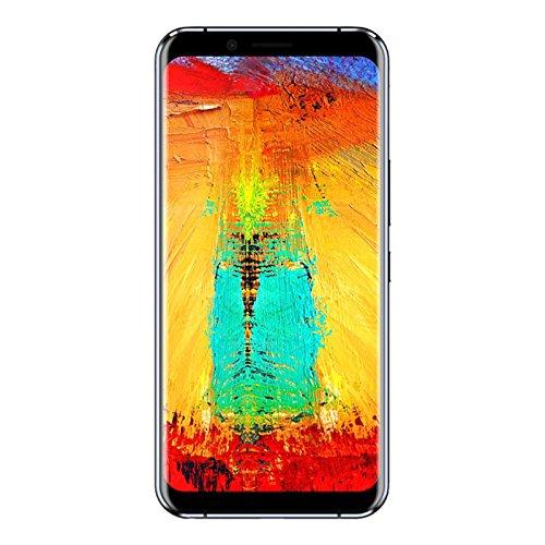 """Leagoo S8 Pro - Écran Infinity, 5,99"""" 4G Smartphone, Android 7.0 Octa Core 6Go+64Go, Appareil Photo 13MP+5MP+13MP, Lecteur D'empreinte Digitale, Double SIM, Téléphones Portables Débloqués"""