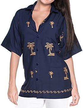 *La Leela* Blusas de La Camisa H