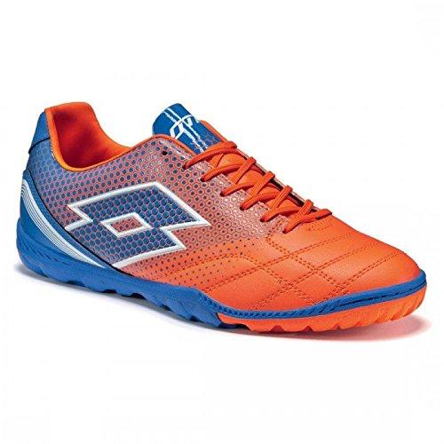 lotto-spider-700-xiii-tf-chaussures-de-football-homme-multicolore-naranja-azul-fant-fl-blu-shv-40-eu