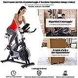 Sportstech Cyclette Professionale SX200 con Controllo Attraverso App per Smartphone,...
