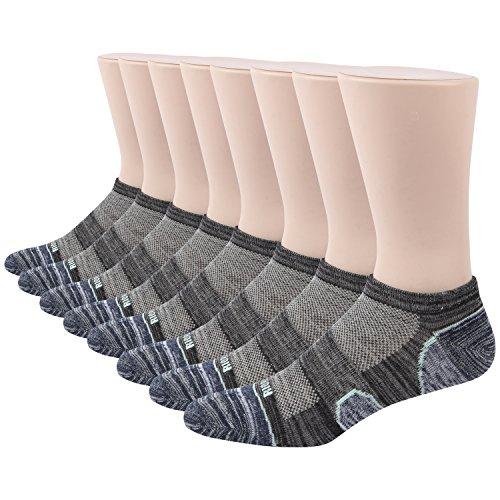 Herren mode Baumwoll socken 8 Paar Socken (KQMSK02) (Soft-toe-oxford Athletic)
