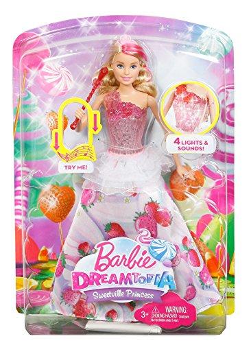 Barbie Mattel DYX28 BonBon Licht und Musik Prinzessin