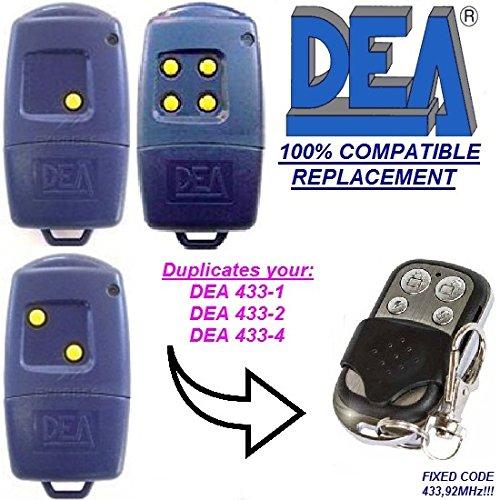 Kanal Top (DEA 433-1 / DEA 433-2 / DEA 433-4 kompatibel handsender, klone fernbedienung, 4-kanal 433,92Mhz fixed code. Top Qualität Kopiergerät!!!)
