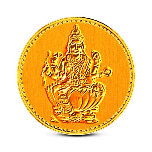 Zaamor Diamonds 1 gm, 24k (999) Yellow Gold Precious Coin  available at amazon for Rs.3354
