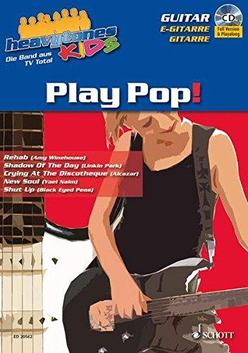 Heavytones Kids: Play Pop!: die freshe Playalong-Serie (Paket enthält: ED 20562, ED 20563, ED 20564 und ED 20565). Paket.