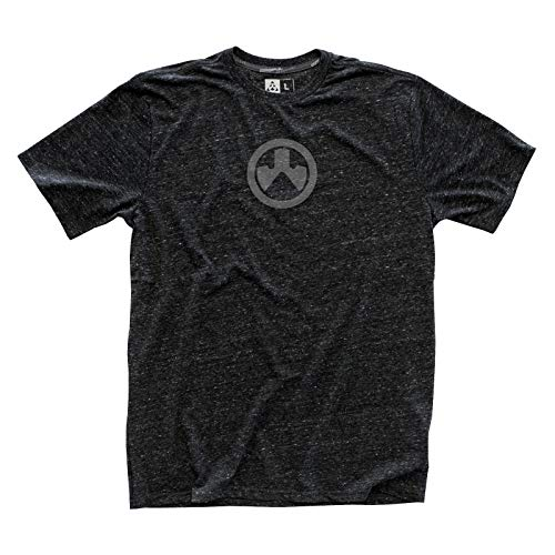 Magpul Unisex-Erwachsene Megablend Icon T-Shirt kurzärmelig, Charcoal Heather, X-Large -
