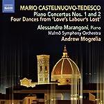 """4 Danze da """"Love's Labour's Lost"""" op.167-Alessandro Marangoni, giovane interprete piemontese, nel suo revival di compositori italiani ci propone ora i 2 Concerti per pianoforte di Castelnuovo-Tedesco: il primo, scritto nel 1927, è un vivido e arguto ..."""