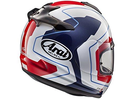 ARAI Casco de moto integral Axces-3 line azul M