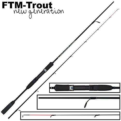 FTM Virus Spoon XP31,80m 1–8g–Truite Spin...