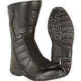 18405541/700 - Akito Stealth Motorcycle Boots 41 Black (UK 7)