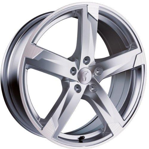 1 x Rondell Z Design 01RZ in 8,0 x 19 ET 45 LZ/LK 5 x 114,3 Farbe Silber matt, poliert für Honda CR-V (III) Typ RE5, RE6, RE7
