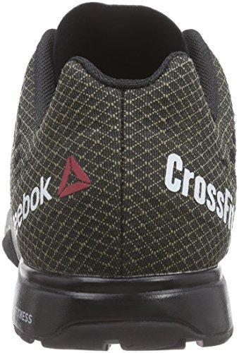 Reebok Herren Crossfit Nano 5.0 Laufschuhe Schwarz (Black/Alloy/Tin Grey/Shark)