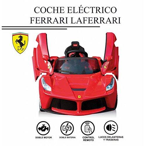 Coche eléctrico FERRARI LAFERRARI para niños con licencia original