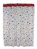 GZD Spesso poliestere Belle americano cortina di acquazzone impermeabile domestica PEVA (1 pacchetto di 2) , 200*180