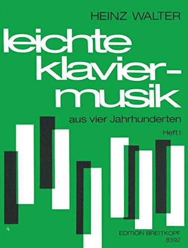 Leichte Klaviermusik Aus 4 Jh. Piano