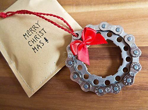 Fahrrad Weihnachtskugel Baumschmuck Christbaumkugel Radsport Geschenkidee Radfahrer Bike Weihnachtsgeschenk