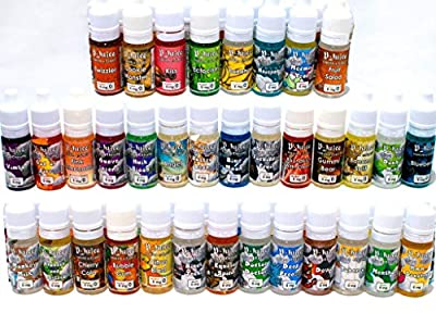Clearance High VG Cloud Chaser E-liquid by V-Juice - Mix 80VG 20PG No Nicotine Hulk blood, vimto , Heisenberg, blue moon etc from v jucie