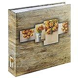 Hama Rustico Orange photo album - photo albums (225 mm, 225 mm, Orange, 100 sheets, 10 x 15, 200 sheets)