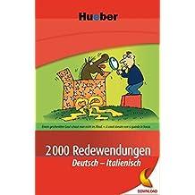 2000 Redewendungen Deutsch-Italienisch: EPUB-Download