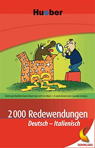 2000 Redewendungen Deutsch-Italienisch: EPUB-Download (Italian Edition) (Download Epub)