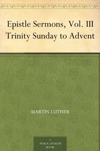 epistle-sermons-vol-iii-trinity-sunday-to-advent-english-edition