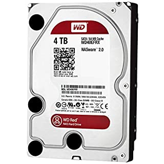 Western Digital 4TB Intellipower SATA 6Gb/s 64 MB Cache 3.5-Inch NAS Desktop Hard Disk Drive - Red (WD40EFRX) (B00EHBERSE) | Amazon price tracker / tracking, Amazon price history charts, Amazon price watches, Amazon price drop alerts