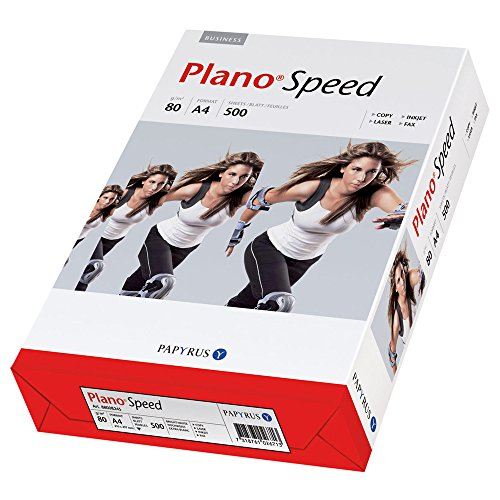 Plano Speed Allroundpapier Kopierpapier Druckerpapier, 80 g/m², 10 x 500 Blatt