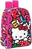 Hello Kitty - Zaino con trolley'Sweetness', 60 cm, 45 litri, multicolore