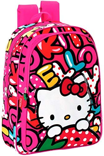 Hello Kitty Mochila Carro 'Sweetness' Maleta, 60 cm
