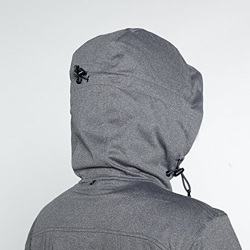51tmlx5UTGL. SS500  - Berg Outdoor Women's Nataka Long Fit Softshell Jacket