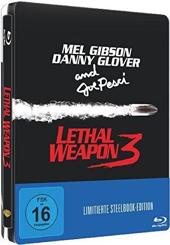 LETHAL WEAPON 3 (Blu-ray Disc) Steelbook (Blu-ray-lethal Weapon)