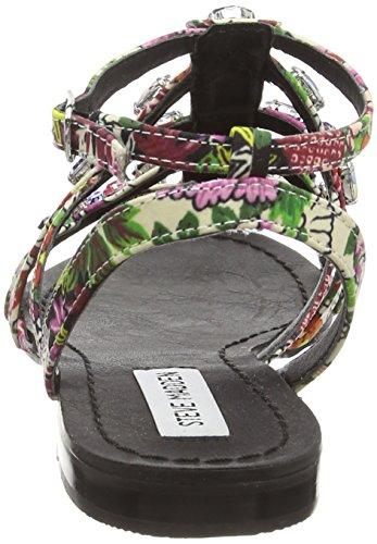 Steve Madden Bdazzled - Sandalo da Donna Multicolore (Bright Multi)