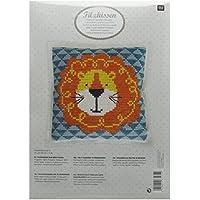 Rico Design Lion Kit de coussin 42/42cm, multi