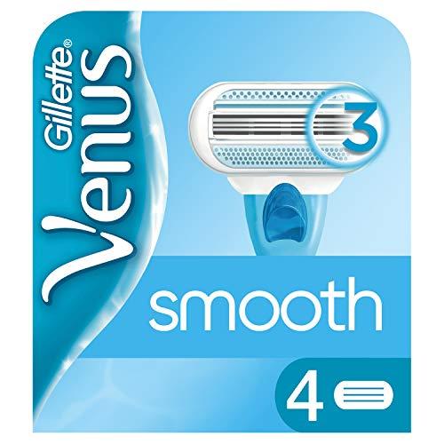 Gillette Venus Smooth Ersatzklingen, 4 Stück