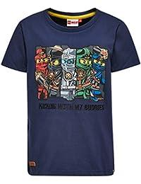 LEGO Ninjago Teo 101-T-Shirt, Camiseta para Niñas