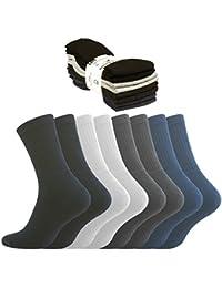 8-16-24 oder 32 Paar Freizeit und Sportsocken, Tennissocken in 5 verschiedenen Farben, von VCA
