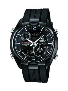 Casio Herren-Armbanduhr XL Edifice Analog - Digital Quarz Kautschuk ERA-100PB-1AVUEF