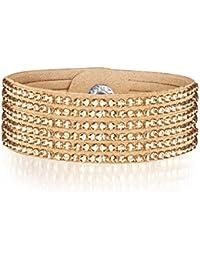 Rafaela Donata - Bracelet fashion cristal de verre - En différentes longueurs, bracelet cristal de verre - 60917071