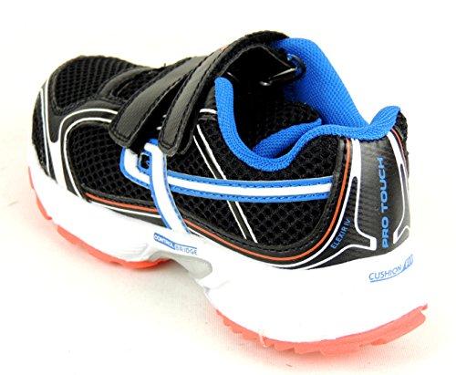 Pro Touch, Scarpe da corsa bambini Nero nero Nero (black/white/blue/orange)