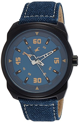Fastrack Analog Blue Dial Men's Watch