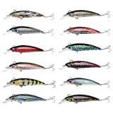 #10: Zibuyu Lb106 Wobbler Crankbaits Minnow Fishing Lures Abs Artificial Hard Bait
