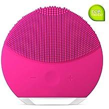 Cepillo de limpieza facial OSLA, silicona, impermeable, recargable, limpiador facial y masajeador