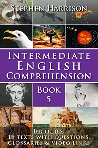Intermediate English Comprehension – Book 5 (with AUDIO) (English Edition)