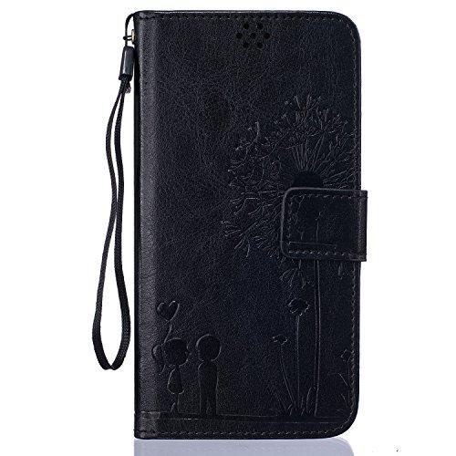 Beiuns Funda de PU piel para Xiaomi Redmi Note 3 / Note 3 Pro (5,5 pulgadas) Carcasa - TX522 noble