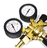 LINGJUN Druckminderer Druckregler Neu Schweißgerät Druckregler mit Gasschlauch für Argon CO2 Schutzgas zu MIG/MAG