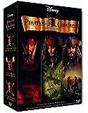 Pirates des Caraïbes - La trilogie : La malédiction du Black Pearl + Le secret du coffre maudit + Jusqu'au bout du monde - coffret collector